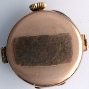 L636.7 - 9ct Gold Telephone Style Wristwatch (9)