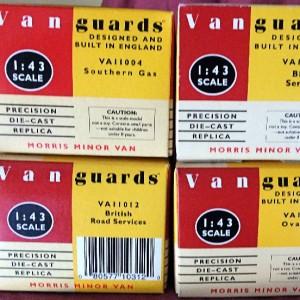 W50.11 - 478  Vanguards Morris Minor Vans (5)