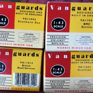 W50.11 - 478  Vanguards Morris Minor Vans (6)