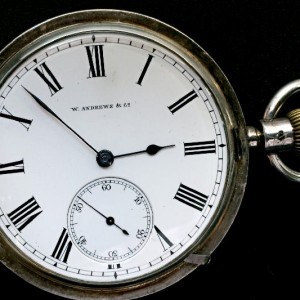 GH 056 -25 - W.Andrews & Co Derry - Swiss Pivoted Detent Chronometer (1)