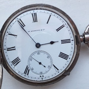 GH 056 -25 - W.Andrews & Co Derry - Swiss Pivoted Detent Chronometer (10)