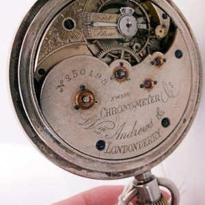 GH 056 -25 - W.Andrews & Co Derry - Swiss Pivoted Detent Chronometer (20)