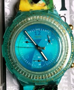 L547 - Swatch Aqua Chrono Atlanta 1996 - Mark Spitz (1)