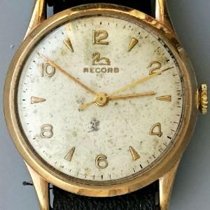 L601 - Record 9ct Gold 17Jewels Cal 640 WW (11)