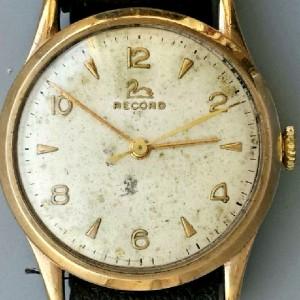 L601 - Record 9ct Gold 17Jewels Cal 640 WW (19)