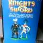 Jul 235.13  - Britains Knight of the Sword No. 7787  Catapult with 4 Silver Knights (3)