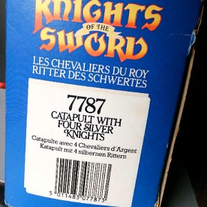 Jul 235.14  - Britains Knight of the Sword No. 7786  Ballista with 4 Storm Troopers (2)