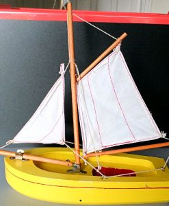 Jul 235.19 - Star Productions - 9 inch Dutch Fishing Barge (2)