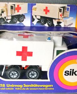 Jul 235.5 - Siku 2218 - Unimog First Aid Vehicle