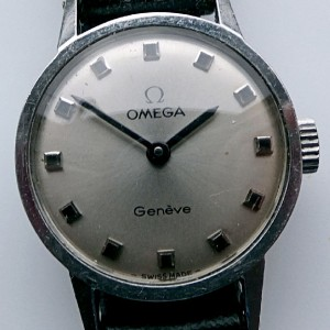 L628 - Ladies Omega WW Cal 625 -1973