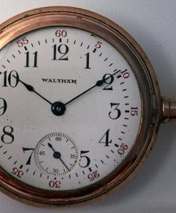 L636.2 - Waltham 7J RG Hunter Case -1915c
