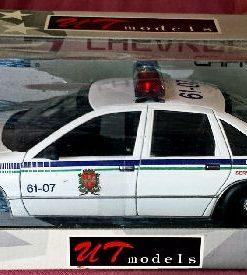 W280 -2.1 . UT Models 21023 . Chevrolet Caprice Canada Police Brassard