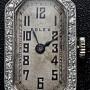 L644 - Rolex 18ct Gold Diamond Set Watch -Prima Movement -1924c (3)