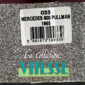 W273-1.4 . Vitesse 033 Mercedes 600 1965 Silver (10)