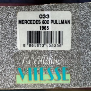 W273-1.4 . Vitesse 033 Mercedes 600 1965 Silver (9)