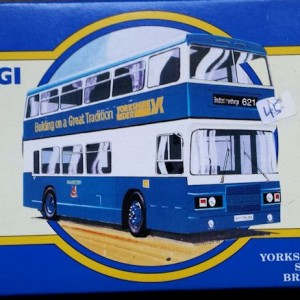 W285-5.1 -Corgi 91862 . The Yorkshire Rider Series Bradford  British Trolley Buses (1)