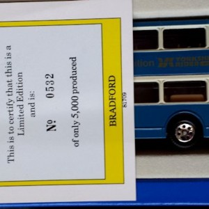 W285-5.1 -Corgi 91862 . The Yorkshire Rider Series Bradford  British Trolley Buses (8)