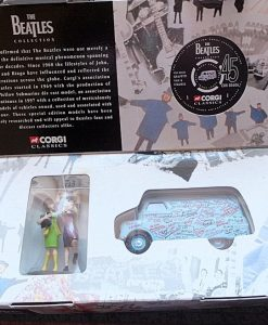 W50.2 - 672. 1 Corgi  05606 Beatles Bedford Graffiti Van (9)