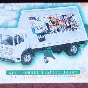 W50.2 - 672. 3 Corgi  22301 Beatles AEC Flatbed Lorry with Billboards  (3)