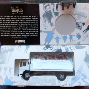 W50.2 - 672. 3 Corgi  22301 Beatles AEC Flatbed Lorry with Billboards  (8)