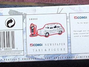 W50.2 - 672. 5 Corgi  58003 Beatles Newspaper Taxi   (5)