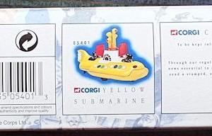 W50.2 - 672.4 Corgi 05401 Beatles Yellow Submarine  (4)