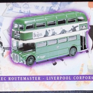 W50.2 - 672.6 Corgi 35009  Beatles AEC Route Master Bus Liverpool Corporation   (3)