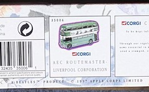 W50.2 - 672.6 Corgi 35009  Beatles AEC Route Master Bus Liverpool Corporation   (4)