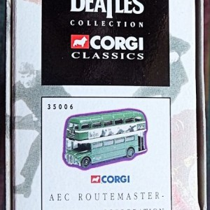 W50.2 - 672.6 Corgi 35009  Beatles AEC Route Master Bus Liverpool Corporation   (6)