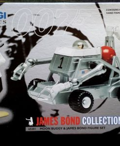 W50.21-674.2 -Corgi 65201 James Bond Collection Moon Buggy  and Bond figure set   (9)
