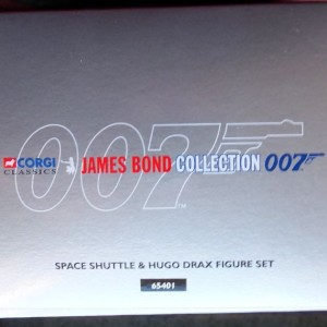 W50.21-674.4 -Corgi 65401  James Bond Collection Space Shuttle and Hugo Drax  figure  (7)