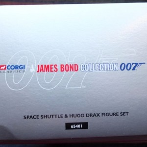 W50.21-674.4 -Corgi 65401  James Bond Collection Space Shuttle and Hugo Drax  figure  (8)