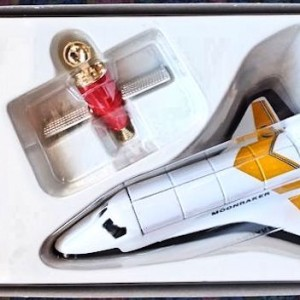 W50.21-674.4 -Corgi 65401  James Bond Collection Space Shuttle and Hugo Drax  figure  (9)