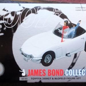 W50.21-674.5 -Corgi 65101  James Bond Collection  Toyota 2000GT and Blofeld figure set (1)