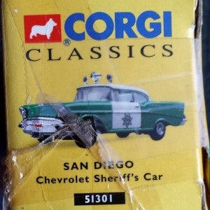 W894 - 40.7 - Corgi  51301 - San Diego Chevrolet Sherriffs Car (7)