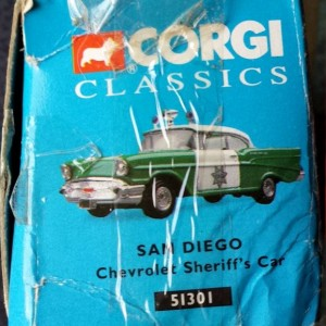 W894 - 40.7 - Corgi  51301 - San Diego Chevrolet Sherriffs Car (8)