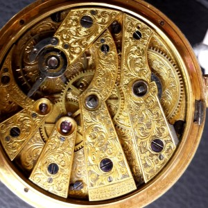 307 D - Coirvoisier Pearl Set Gold nd Enamle Duplex (13)