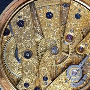 307 D - Coirvoisier Pearl Set Gold nd Enamle Duplex (16)