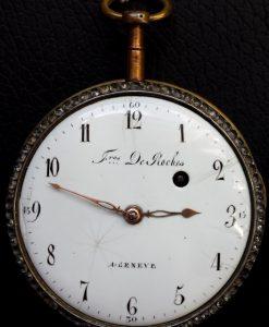 289 D - Diamond Set & Enamel Verge - Freres de Rochas  - 1775c (1)