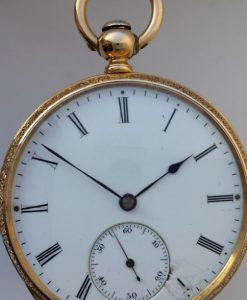 437 D - 18ct Gold & Enamel - Fritz Piguet Geneve  (1)