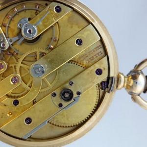 437 D - 18ct Gold & Enamel - Fritz Piguet Geneve  (25)