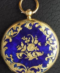 442 D - 18ct Gold & Enamel - LeRoy Paris (2)